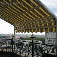 перголные на балконе