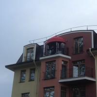 полукруглая для балкона